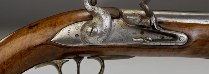 18th Century antique firearm